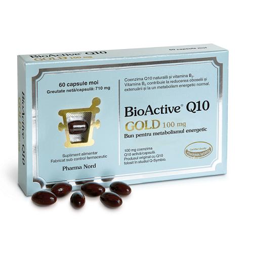 BioActive Q10 Gold 100 mg, 60 capsule, Pharma Nord