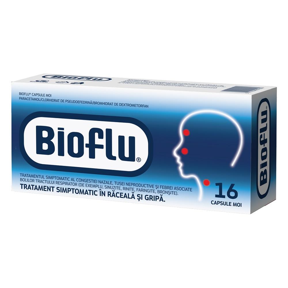 Bioflu, 16 comprimate, Biofarm