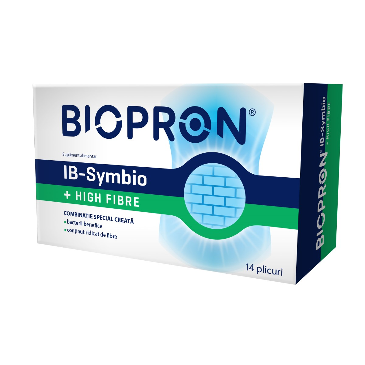 Biopron IB-Symbio + High Fibre, 14 plicuri, Walmark