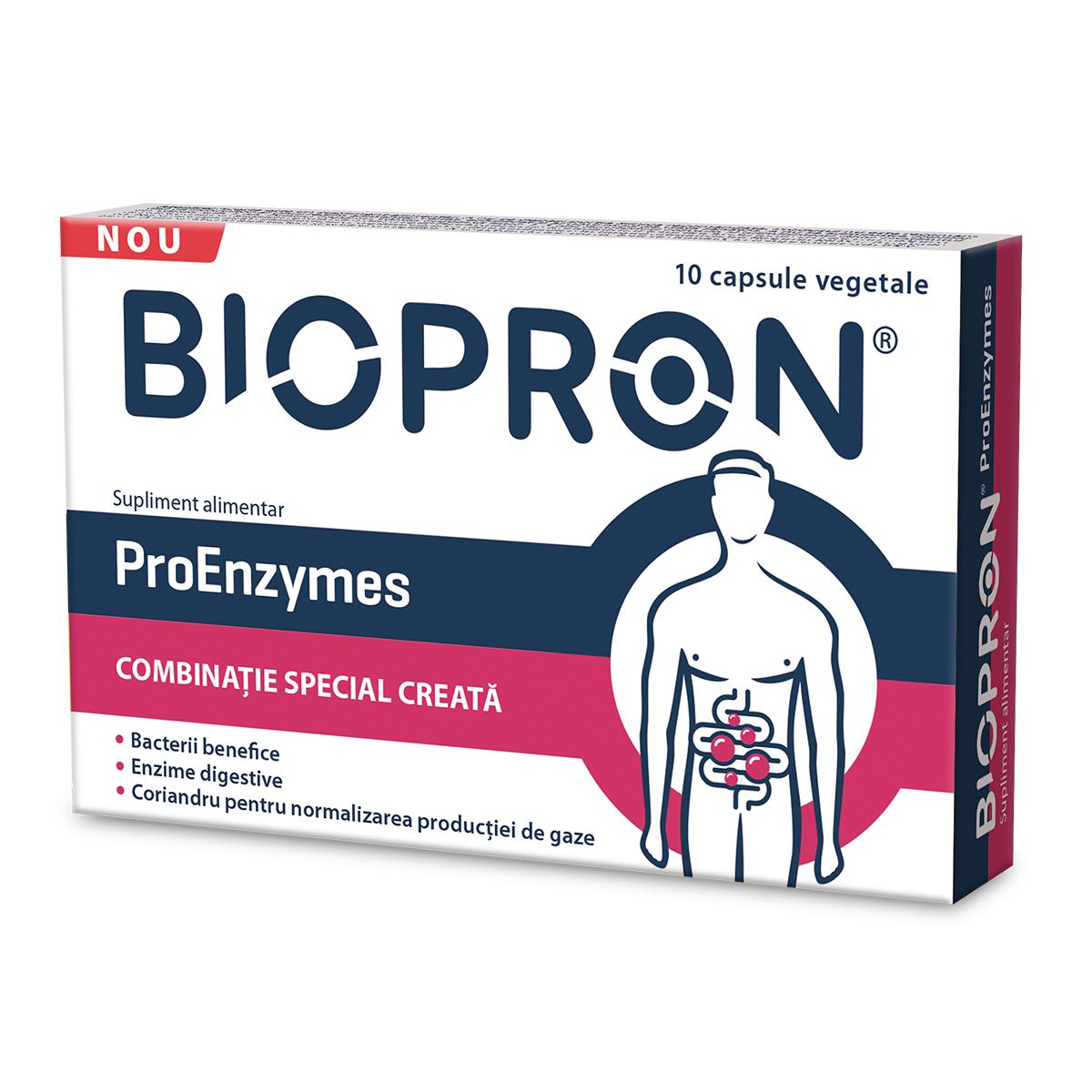 Biopron ProEnzymes, 10 capsule, Walmark