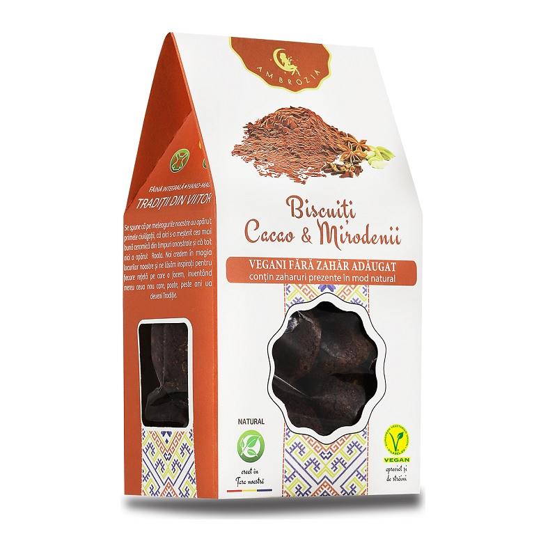 Biscuiți cu cacao și mirodenii, 150 g, Hiper Ambrozia