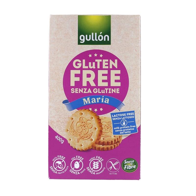 Biscuiti fara gluten, lapte si lactoza Maria, 400 g, Gullon