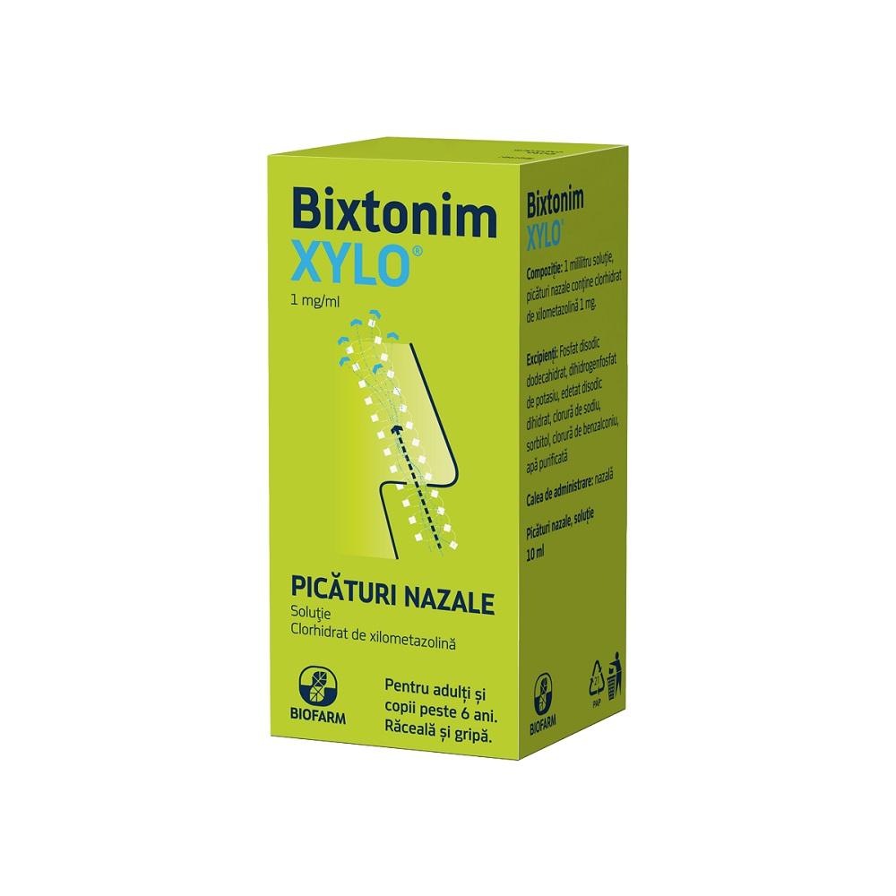 Bixtonim Xylo picături adulți, 10 ml, Biofarm