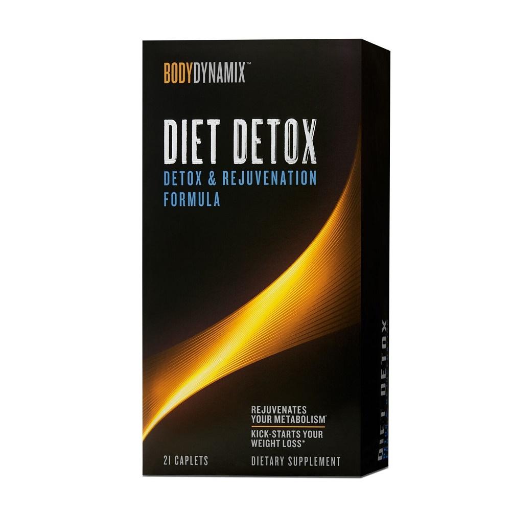 BodyDynamix Diet Detox Formula pentru detoxifierea organismului ( 484300), 21 tablete, GNC