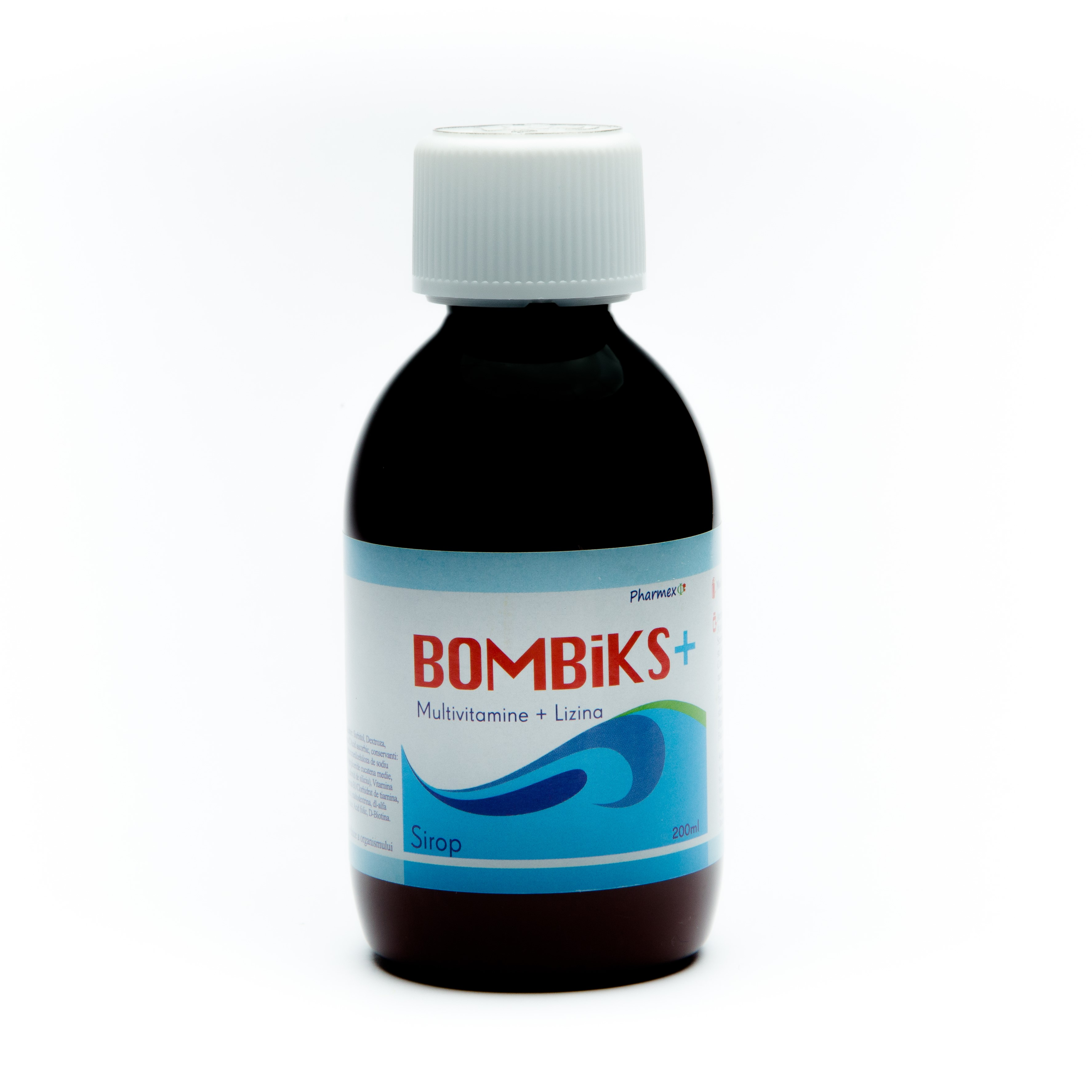 Bombiks+ Sirop, 200 ml, Pharmex