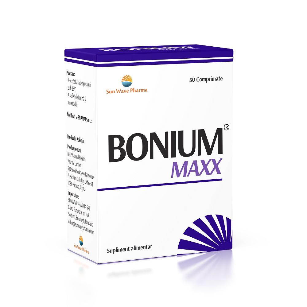 Bonium Maxx, 30 comprimate, Sun Wave Pharma