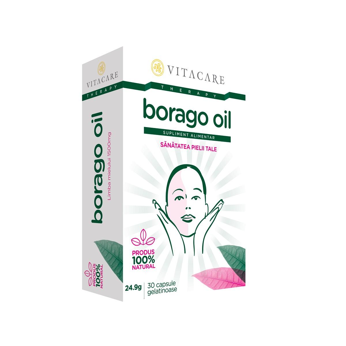 Borago Oil, 30 capsule, Vitacare