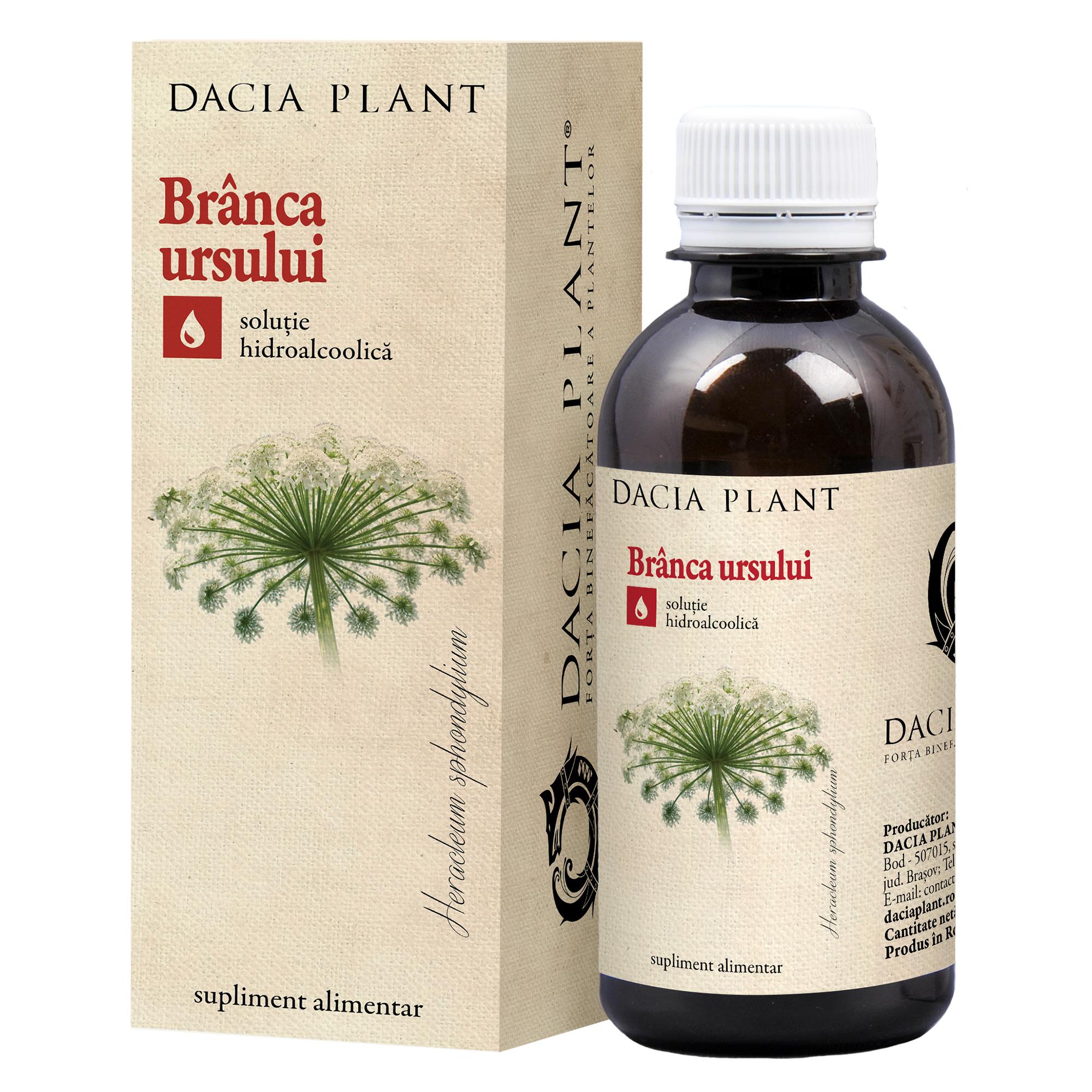 Tinctură de Brânca Ursului, 200 ml, Dacia Plant