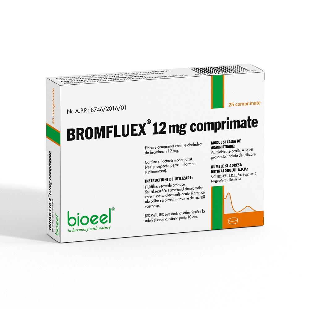 Bromflux 12 mg, 25 comprimate, Bioeel