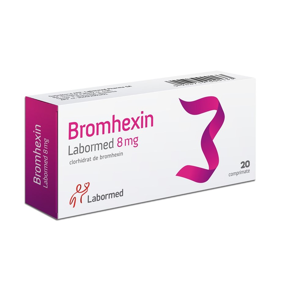 Bromhexin 8 mg, 20 comprimate, Labormed