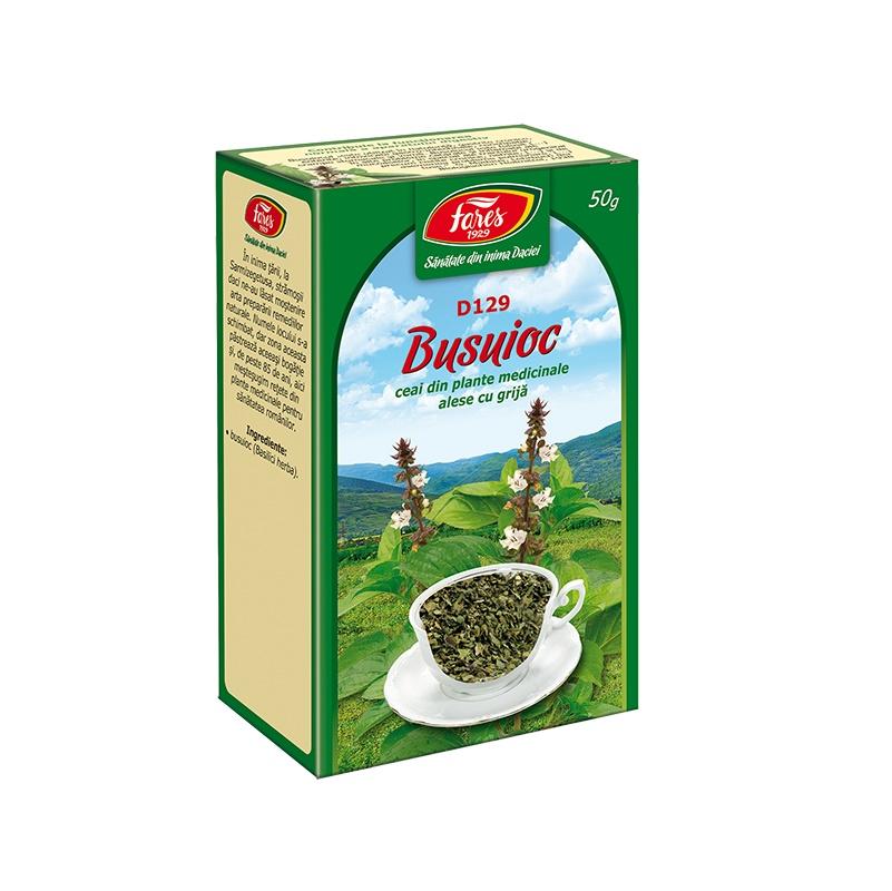ceai de busuioc in cura de slabire