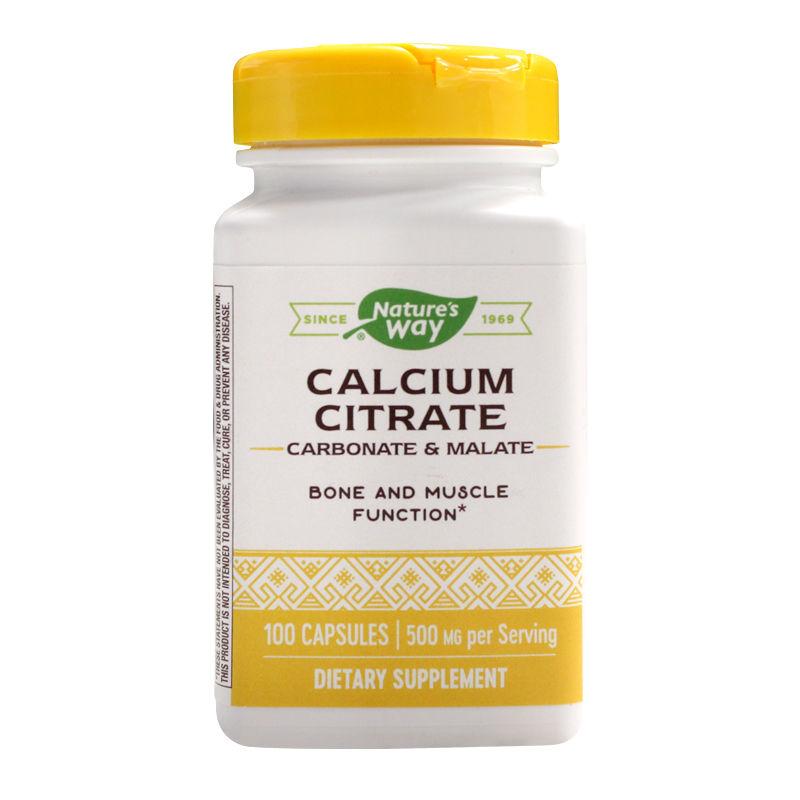 Calcium Citrate Complex Nature's Way, 100 capsule, Secom