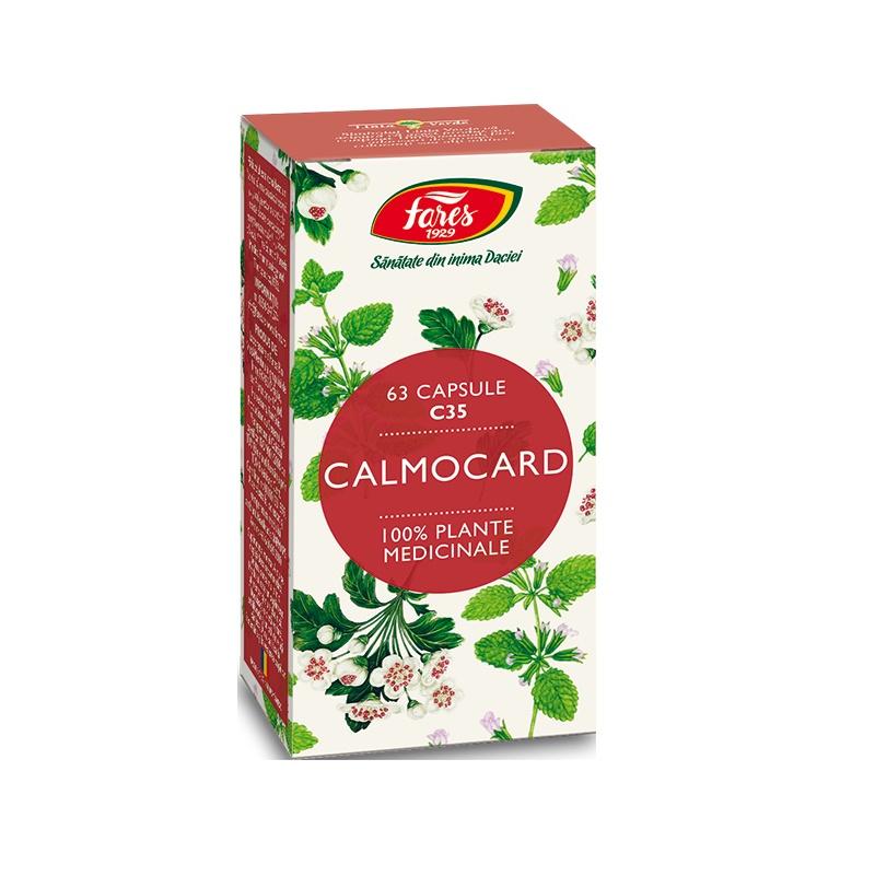 Calmocard 1, C35, 63 capsule, Fares