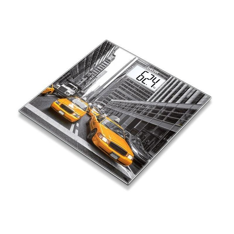 Cântar de sticlă, cu design special, New York, GS203, Beurer