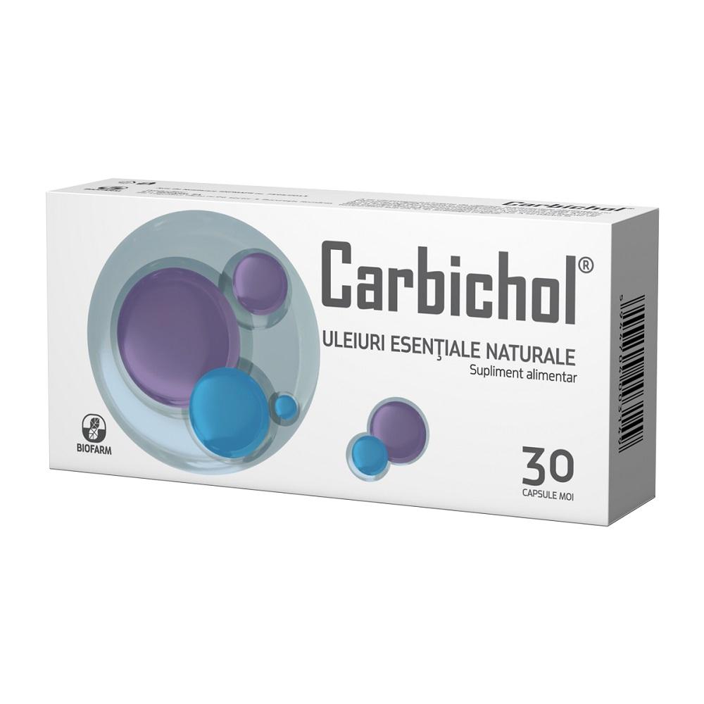 Carbichol, 30 capsule moi, Biofarm