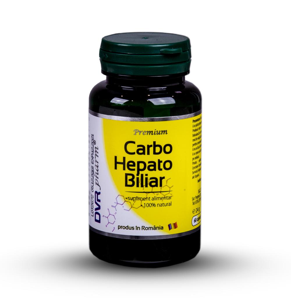 Carbo Hepato Biliar, 60 capsule, Dvr Pharm