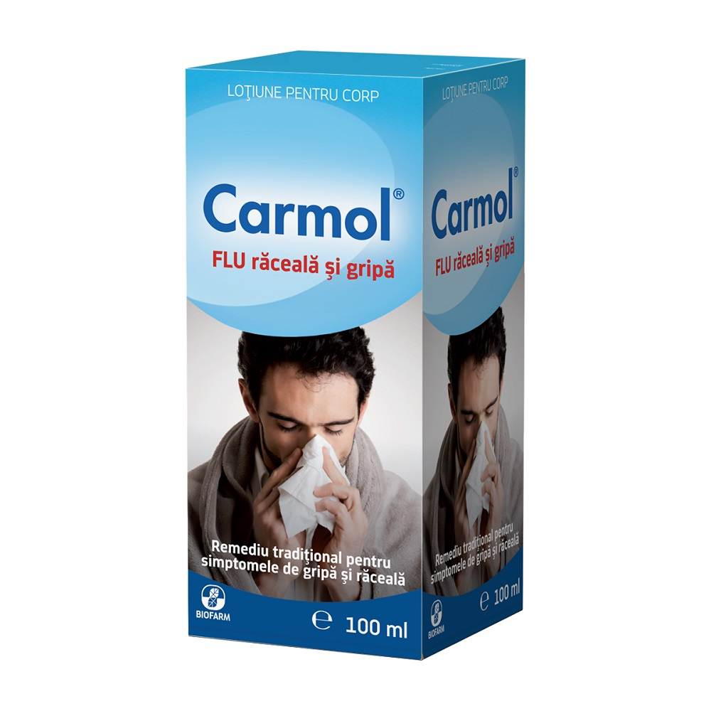 Carmol Flu, 100 ml, Biofarm : Farmacia Tei