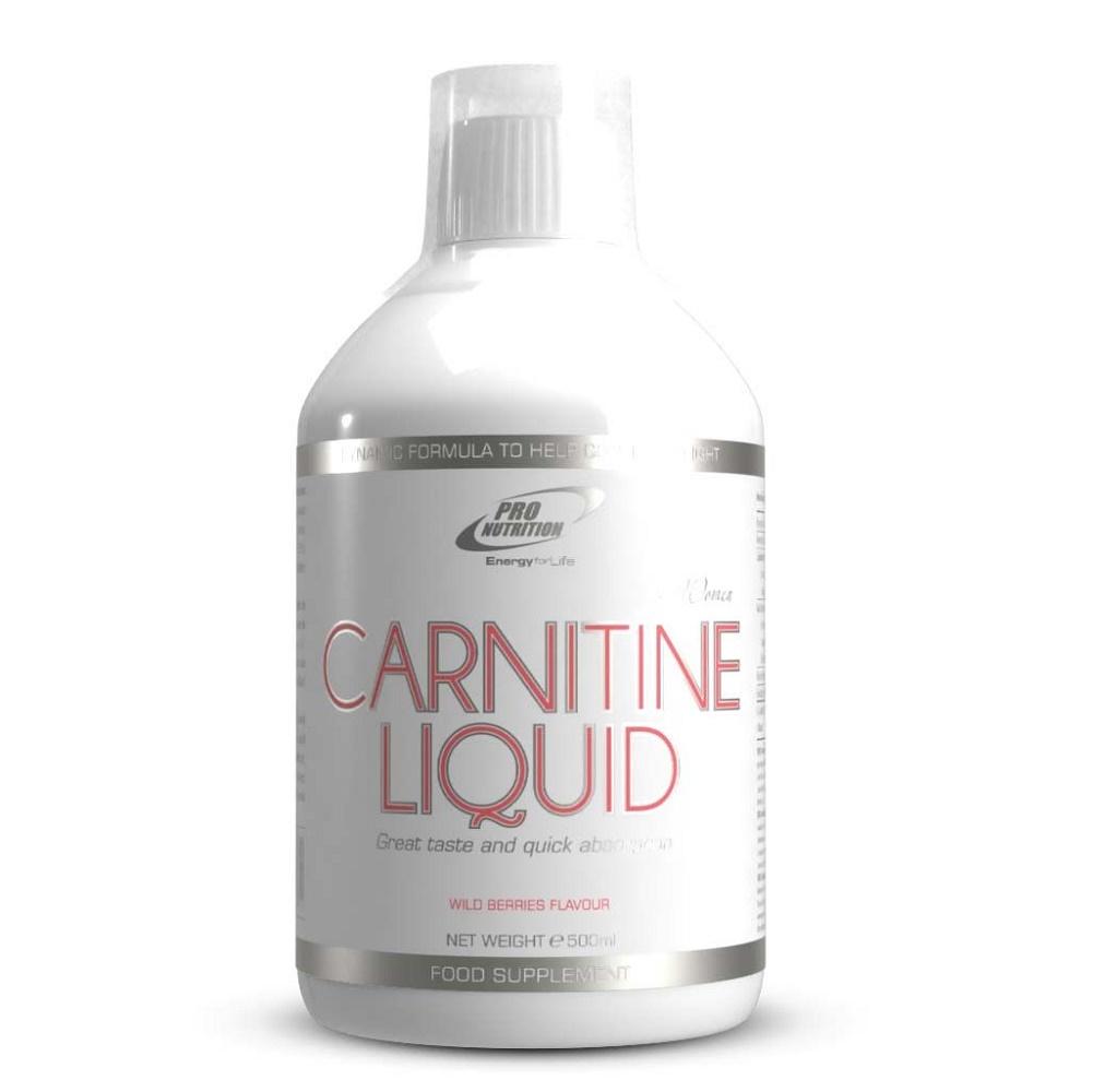 Carnitine Liquid femei, fructe de padure, 500 ml, Pro Nutrition