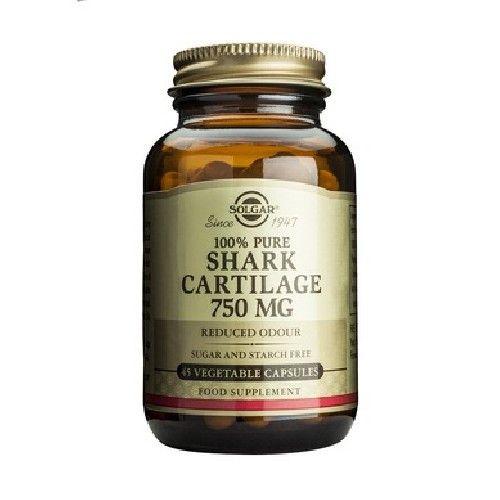 Cartilaj de rechin 750 mg, 45 capsule, Solgar