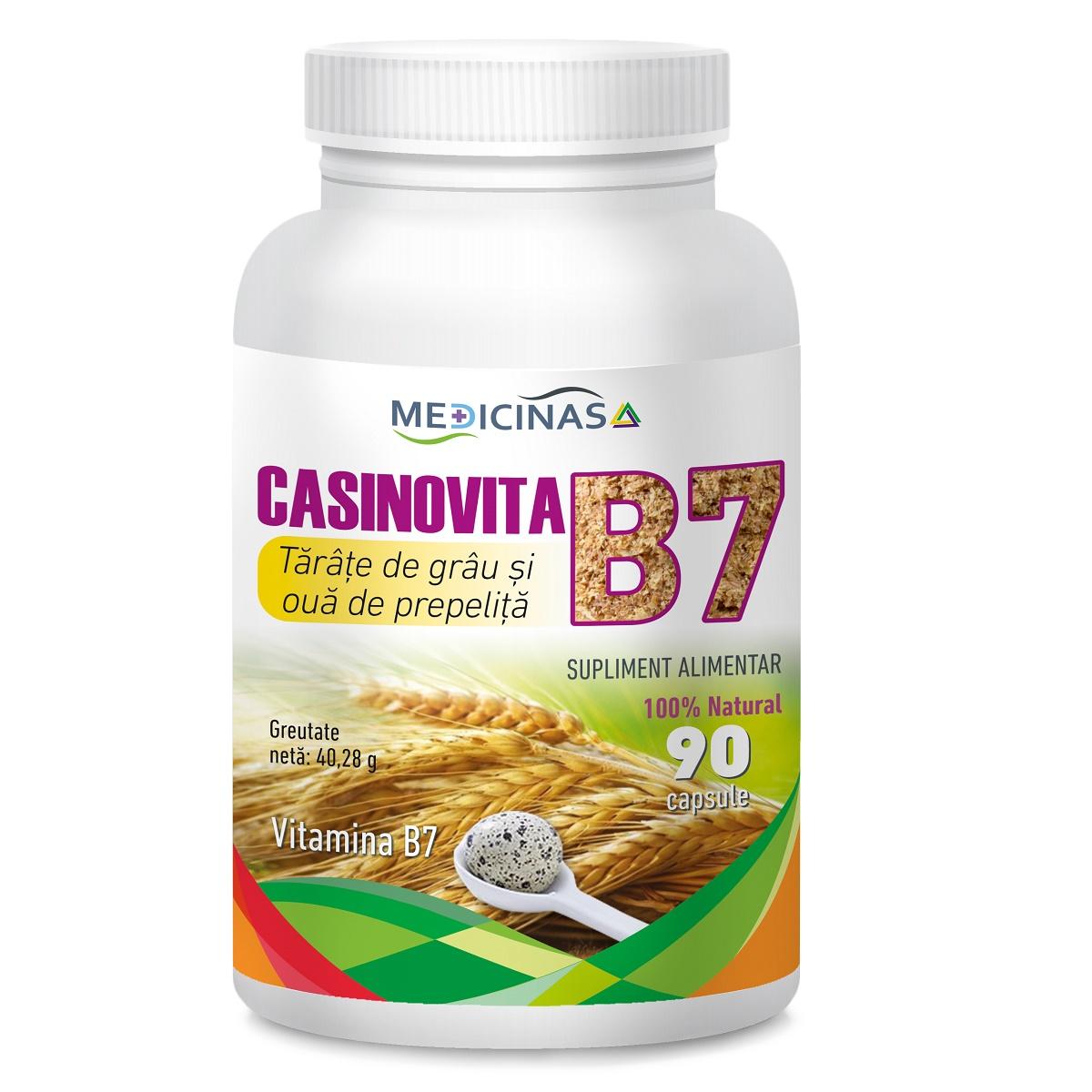 Casinovita B 7, 90 capsule, Medicinas