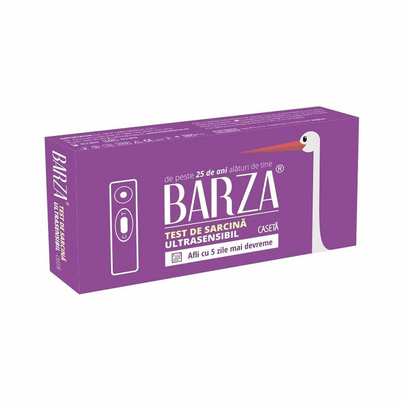 Test de sarcină casetă UltraSensibil Barza, Biotech Atlantic USA