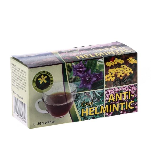 Ceai Antihelmintic, 30 g, Hypericum