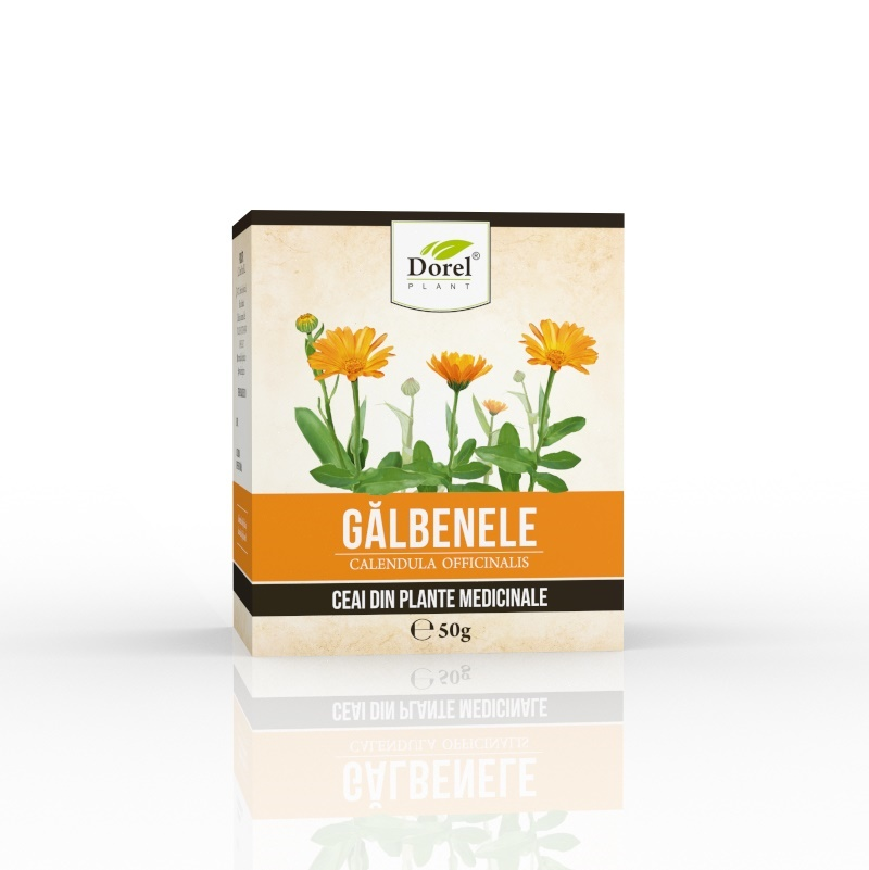 Ceai de galbenele, 50 g, Dorel Plant