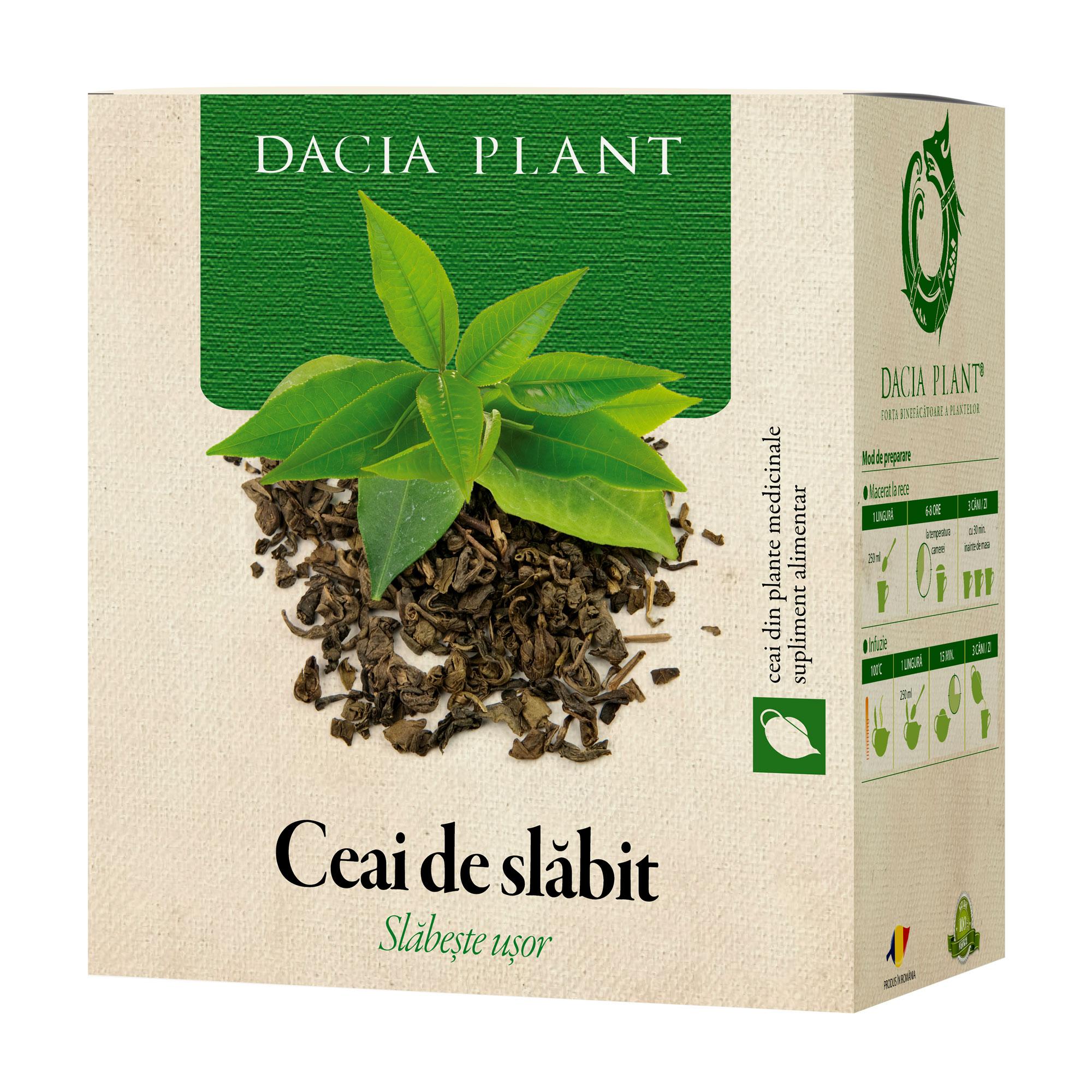 Ceai de slăbit, 50g, Dacia Plant