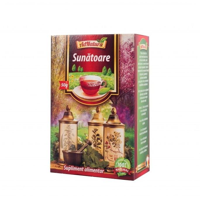 Ceai de Sunatoare, 50 g, AdNatura