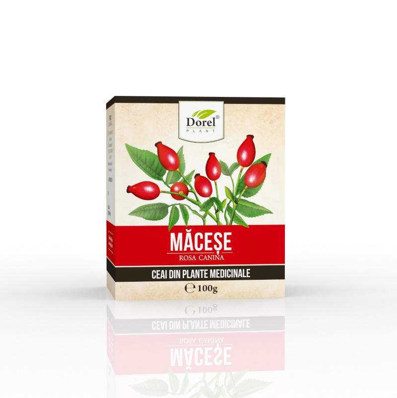 Ceai din fructe de macese, 100 g, Dorel Plant
