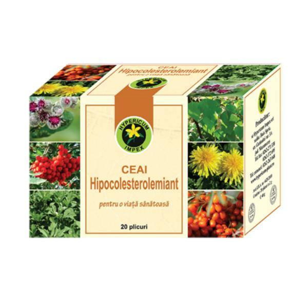 Ceai Hipocolesterolemiant, 20 plicuri, Hypericum