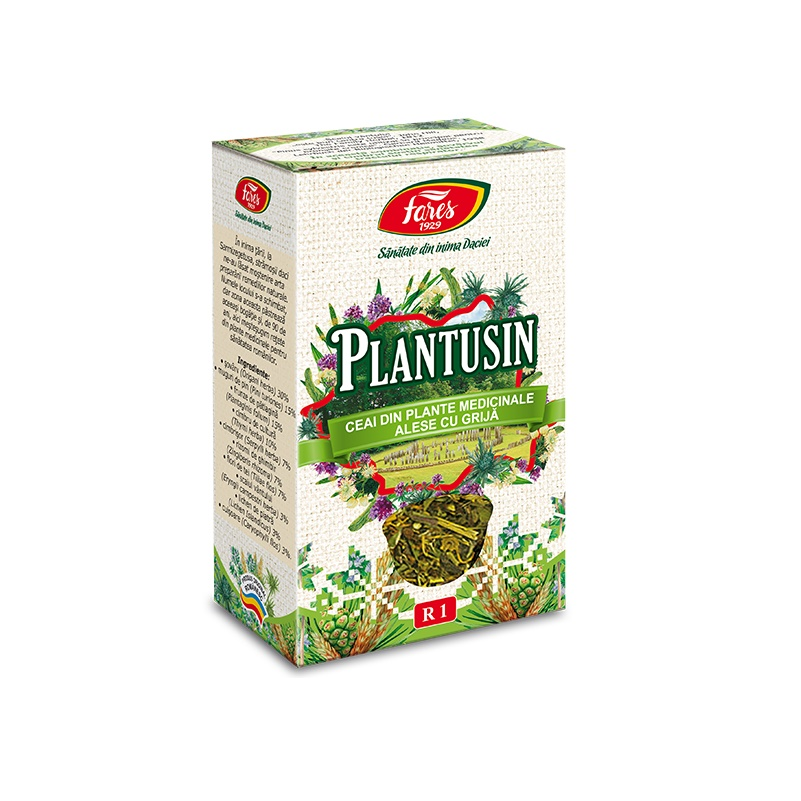 Ceai Plantusin R1, 50 g, Fares