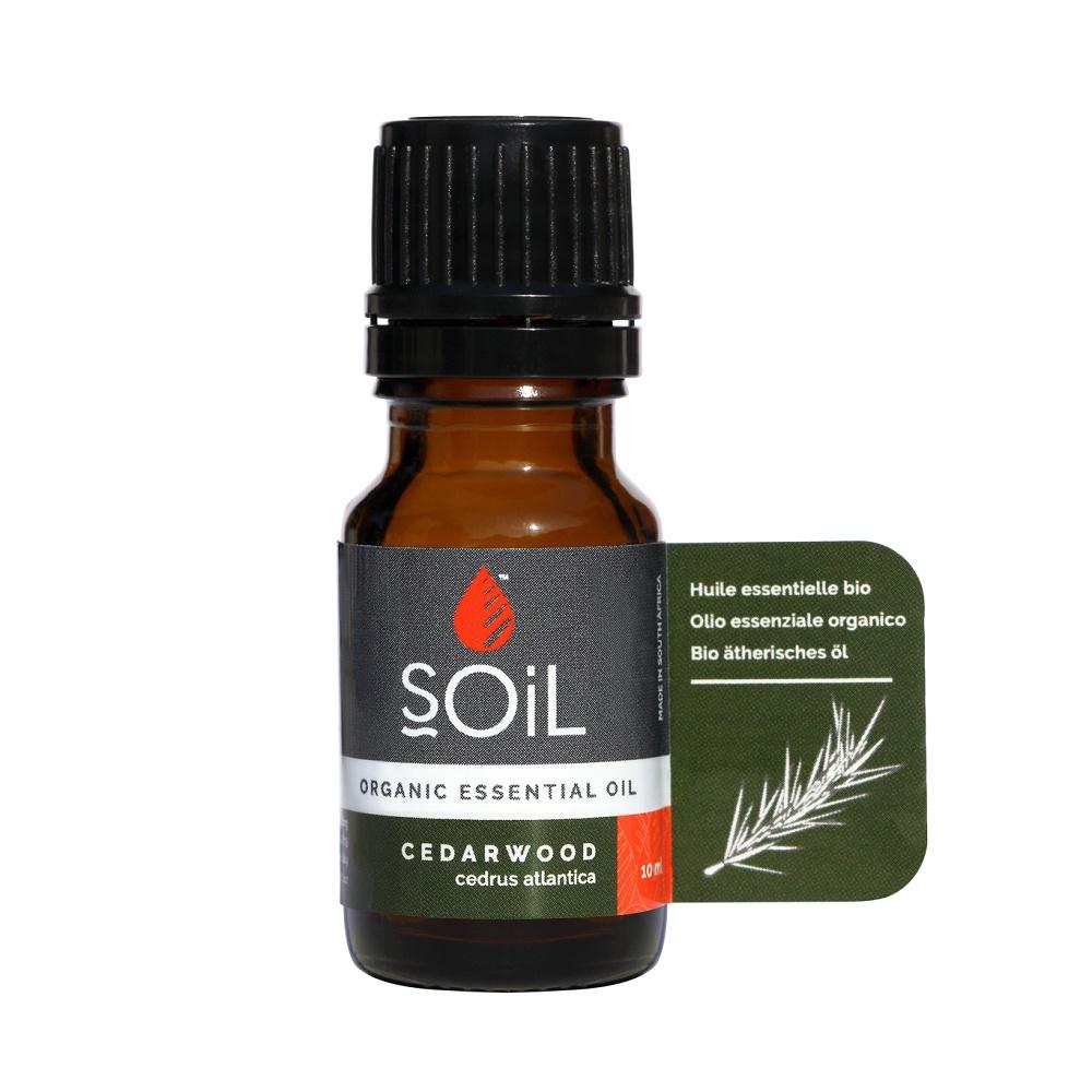 Ulei Esențial Cedru Pur 100% Organic, 10 ml, SOiL