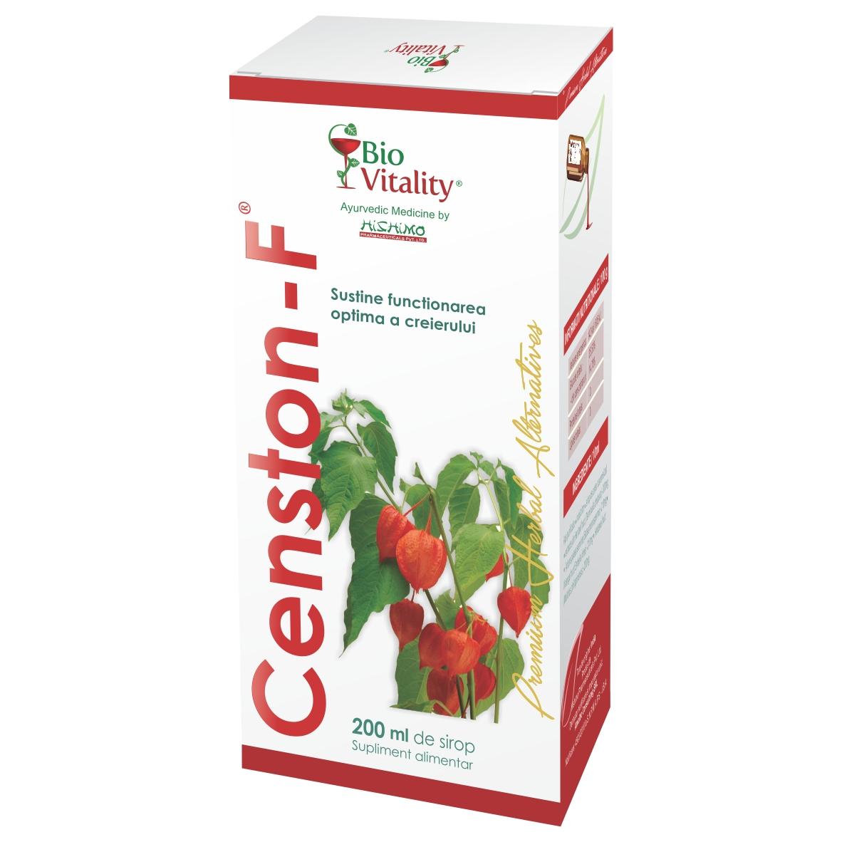 Censton-F Sirop, 200 ml, Bio Vitality