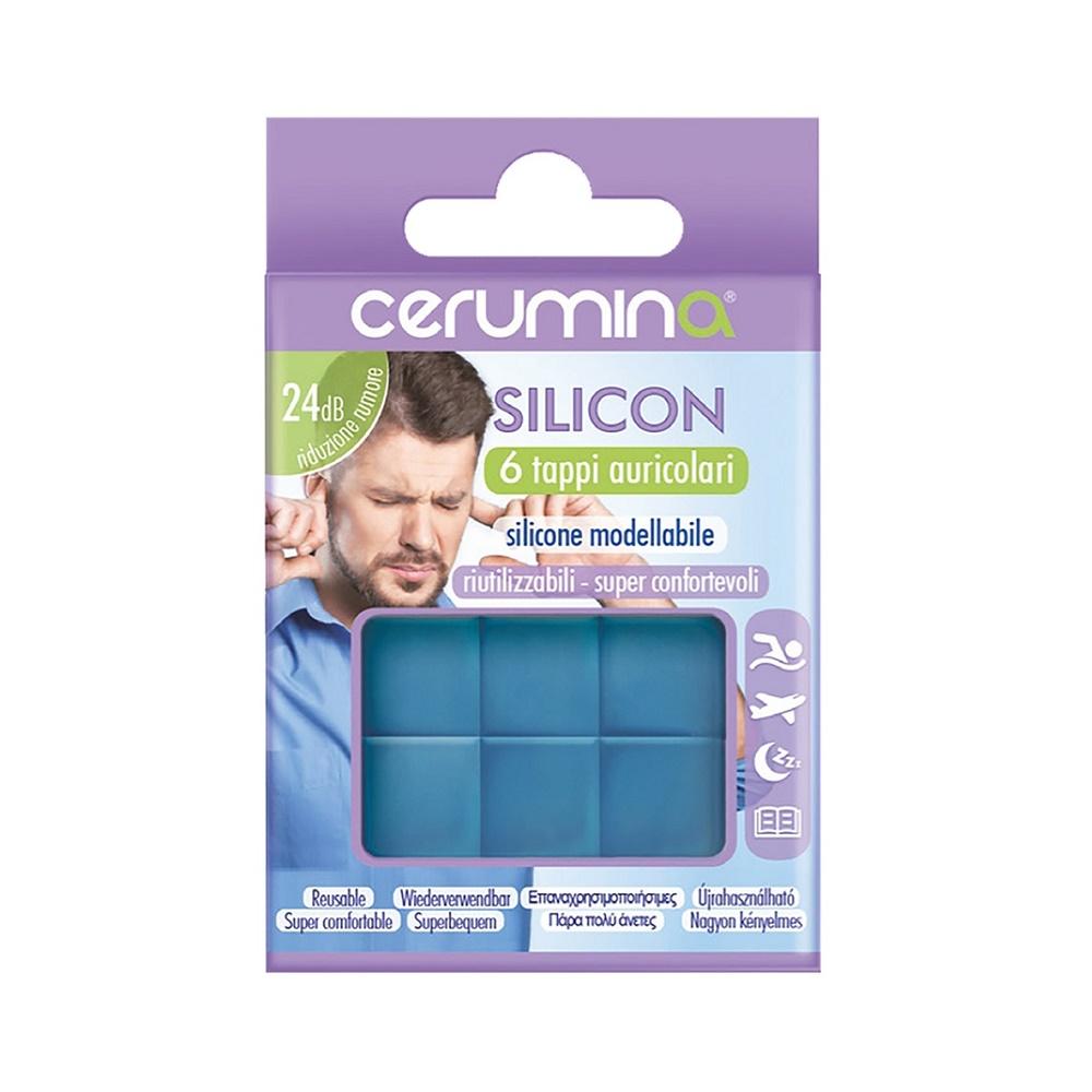 Cerumina SILICON dopuri pentru urechi din silicon modelabil, 6 bucati, Pietrasanta Pharma