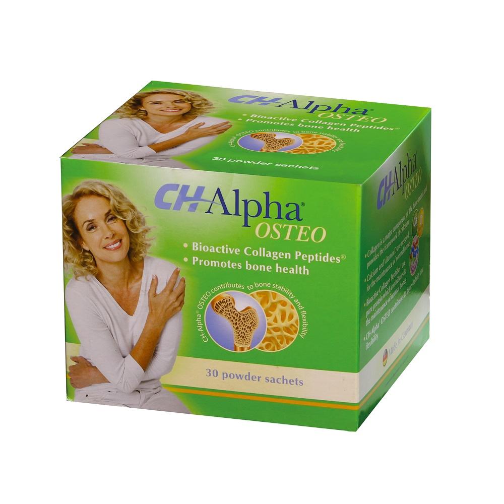 CH Alpha OSTEO Peptide Bioactive de Colagen,  30 plicuri, Gelita Health
