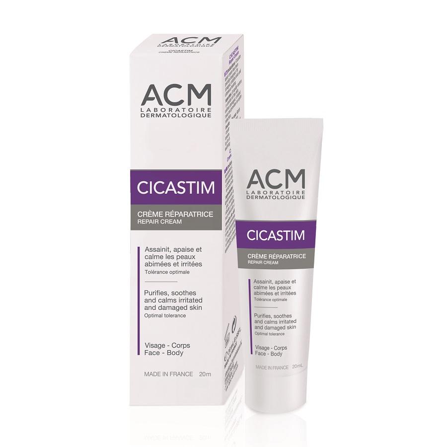 Cremă reparatoare cicatrizantă Cicastim, 20 ml, Acm