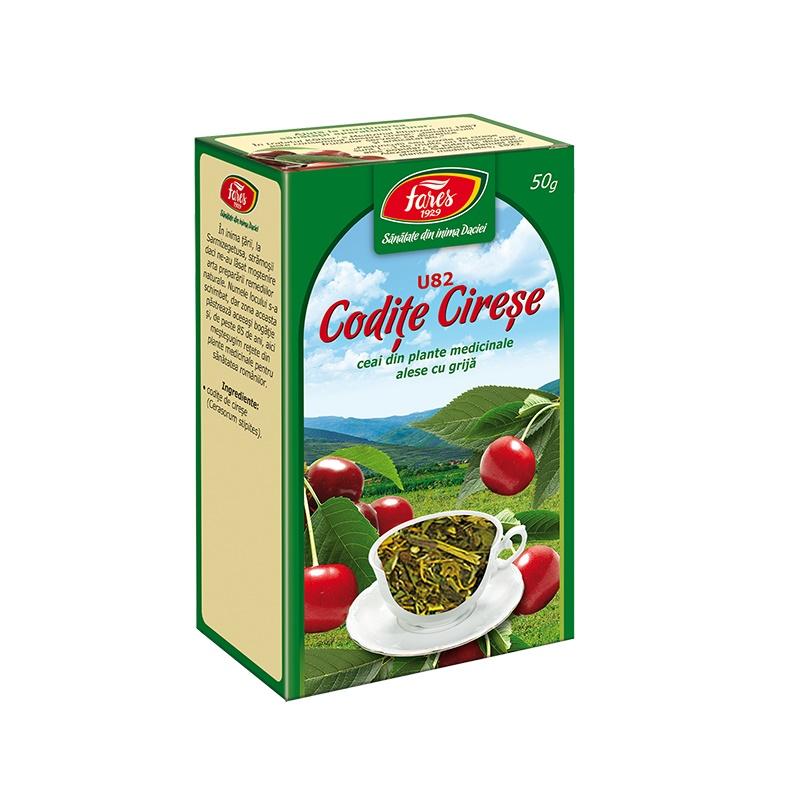 Ceai Codițe de Cireșe, U82, 50 g, Fares