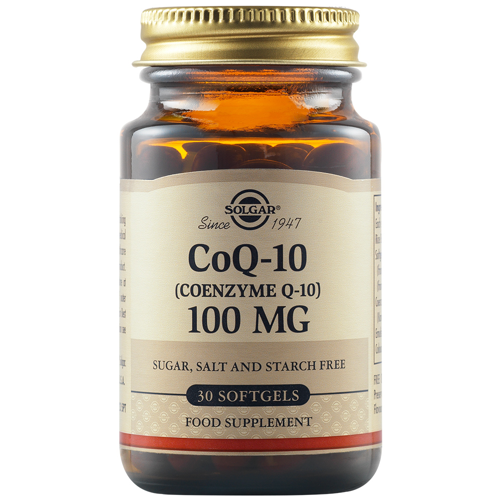 Coenzima Q10 100 mg, 30 capsule, Solgar