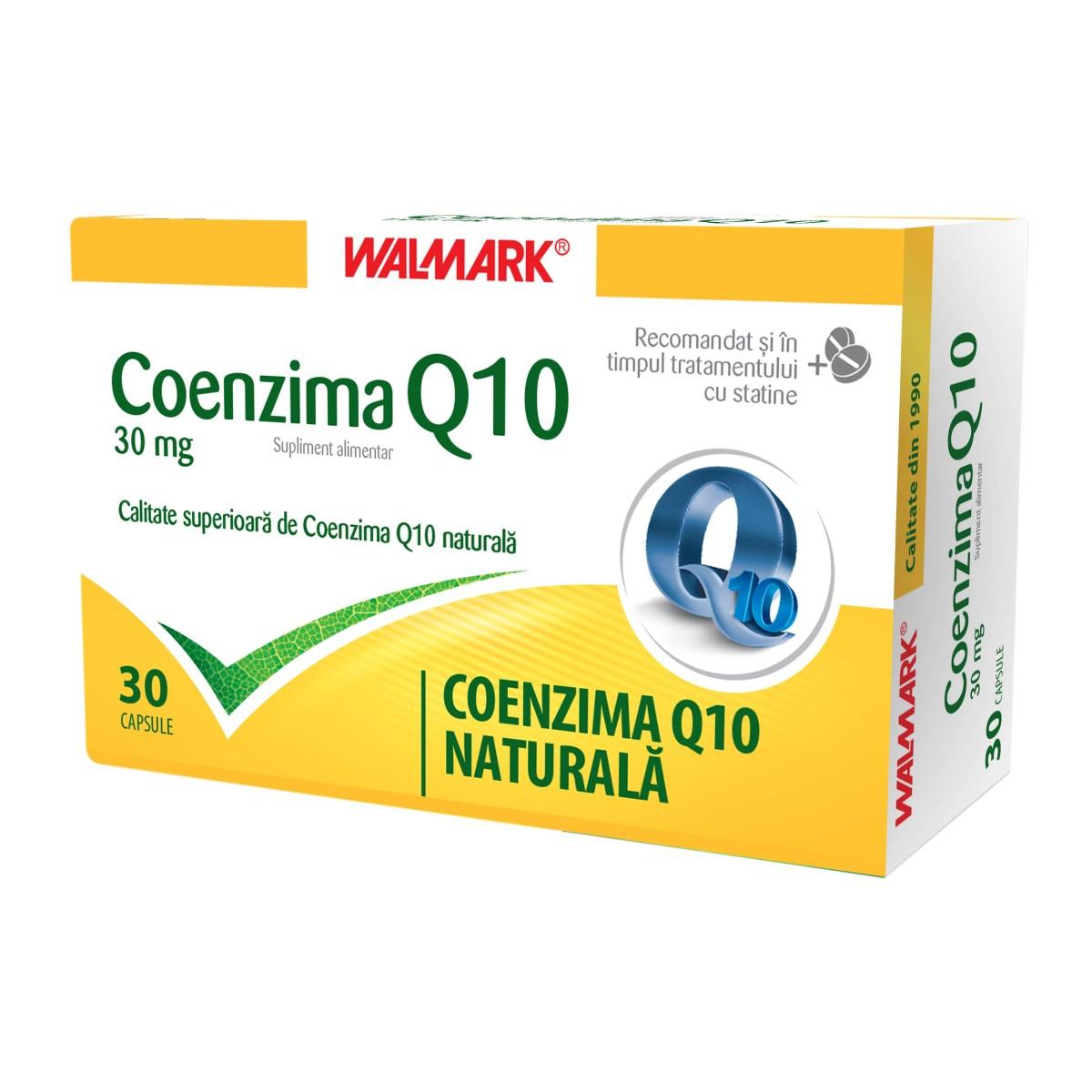 Coenzima Q10 30mg, 30 capsule, Walmark
