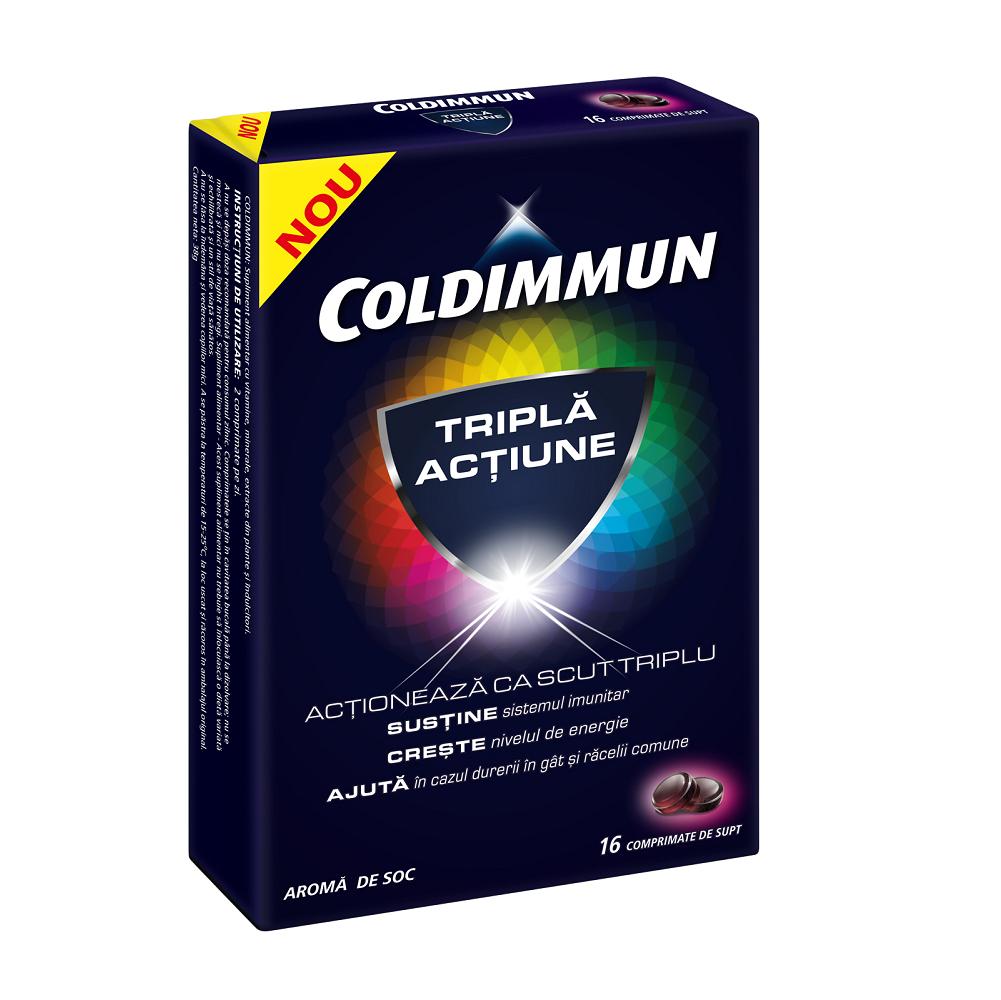 ColdImmun, 16 comprimate, Perrigo