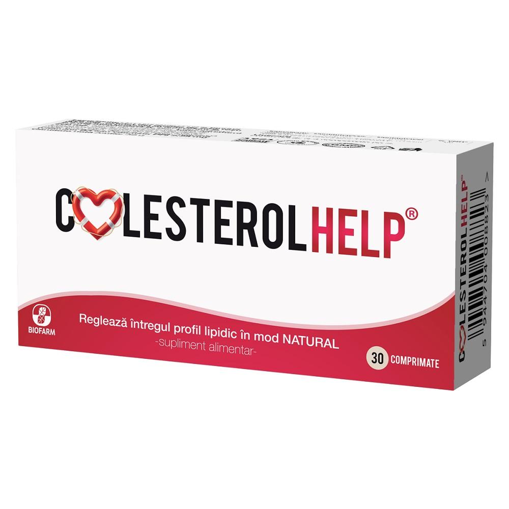 ColesterolHelp, 30 comprimate, Biofarm