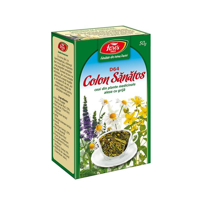 ceai fares colon sanatos giornata tipo snep