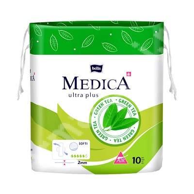 Absorbante Medica Ultra Plus, 10 bucati, Bella