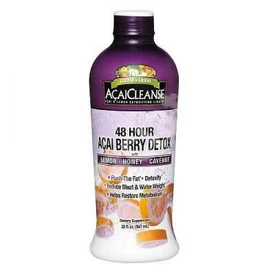 Acai Berry Detox Colon Cleanse Free Trial Detox Wide Ribbon Durata de viață