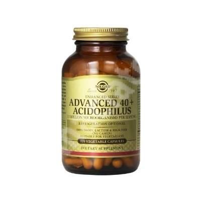 Acidophilus Avansat 40 +, 60 capsule, Solgar