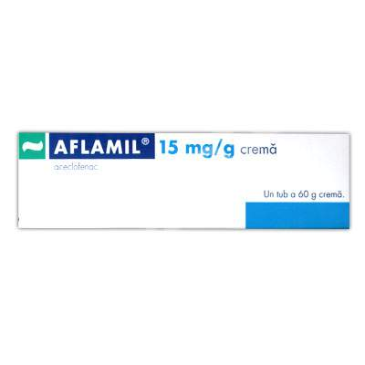 Aflamil 15mg crema, 60 g, Gedeon Richter Romania