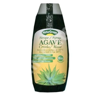 Agave Bio sirop crud, 500 ml, Naturgreen