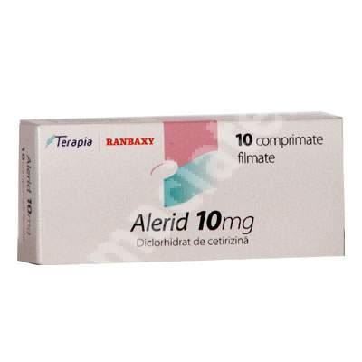 Alerid 10 mg, 10 comprimate, Terapia