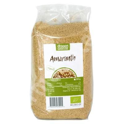 Amaranth Eco, 500 g, Dragon Superfoods